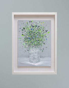 """MIRAGE FRAMED PRINT - """"Simply Beautiful"""" (30x24"""")"""
