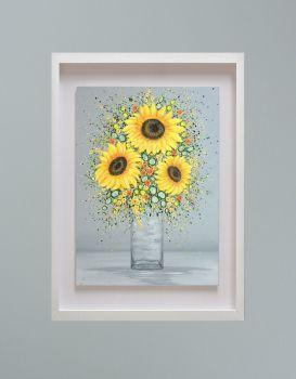 "MIRAGE FRAMED PRINT - ""You're My Sunshine"" (30x24"")"
