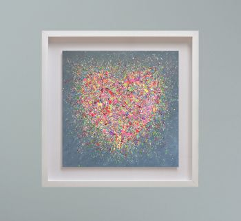 """MIRAGE FRAMED PRINT - """"Home Is Where The Heart Is"""" FROM  £195"""