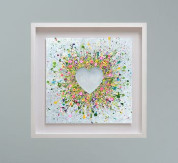 """MIRAGE FRAMED PRINT - """"You Make Me Happy"""" FROM  £195"""