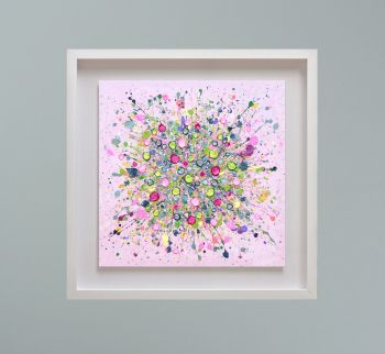 """MIRAGE FRAMED PRINT - """"Bursting With Love"""" FROM  £195"""
