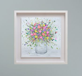 """MIRAGE FRAMED PRINT - """"Love At First Sight"""" FROM  £195"""