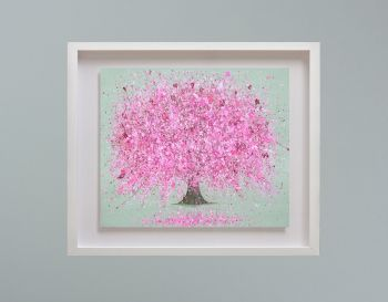 """MIRAGE FRAMED PRINT - """"Blossoming Love"""" (30x24"""")"""