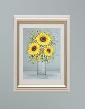 """VIENNA FRAMED PRINT - """"You're My Sunshine"""" FROM £185"""