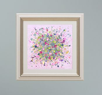 """VIENNA FRAMED PRINT - """"Bursting With Love"""" FROM  £165"""