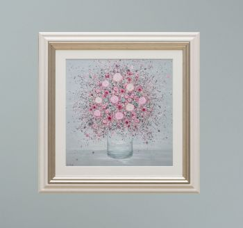"""VIENNA FRAMED PRINT - """"You Make Me Blush"""" FROM  £165"""