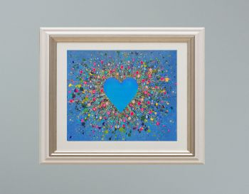 """VIENNA FRAMED PRINT - """"My Heart Belongs To You"""" FROM £185"""