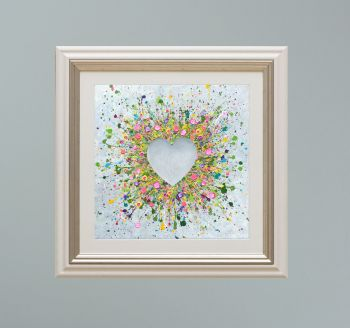 """VIENNA FRAMED PRINT - """"You Make Me Happy"""" FROM  £165"""