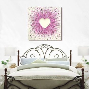 """CANVAS PRINT - """"So In Love With You"""" From £65"""