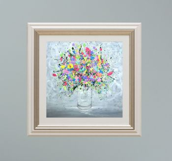 """VIENNA FRAMED PRINT - """"You're My Summer Love"""" FROM  £165"""