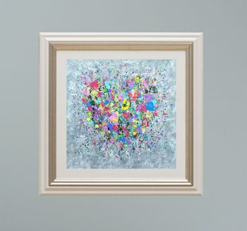 """VIENNA FRAMED PRINT - """"A Heart Full Of Love"""" FROM  £165"""