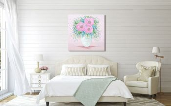 """CANVAS PRINT - """"Sweet Kisses"""" From £65"""