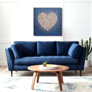 """CANVAS PRINT - """"A Heart Full Of Love"""" From £65"""
