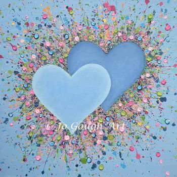 """ORIGINAL ART WORK - """"Hope In Our Hearts"""" (60x60cm)"""