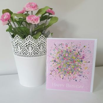 """GREETING CARD - """"Bursting With Love"""""""
