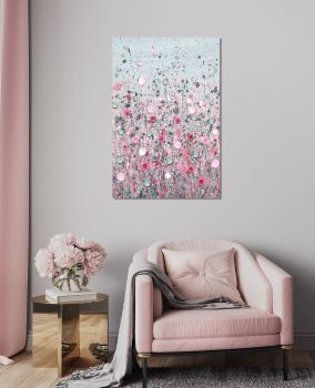 """CANVAS PRINT (PORTRAIT) - """"You Brighten My Day"""" From £75"""