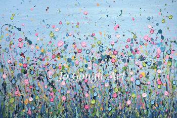 "ORIGINAL ARTWORK (80x60cm) - ""A Field Of Dreams"""