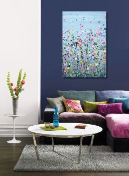 """CANVAS PRINT (PORTRAIT) - """"A Field Of Dreams"""" From £75"""