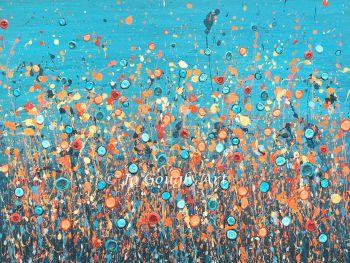 "ORIGINAL ART WORK - ""You Light Up My Life"" (80x60cm)"