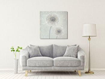 """CANVAS PRINT - """"Make A Little Wish"""" (SQUARE) From £65"""