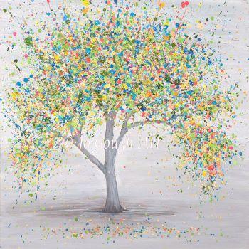 "ORIGINAL ART WORK - ""Adoring Love"" (60x60cm)"