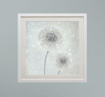 """DUO FRAMED PRINT - """"Make A Little Wish"""" (SQUARE) FROM  £165"""