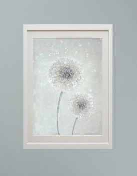 """DUO FRAMED PRINT - """"Make A Little Wish"""" FROM £185"""
