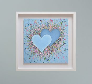"""MIRAGE FRAMED PRINT - """"Hope In Our Hearts"""" FROM  £195"""