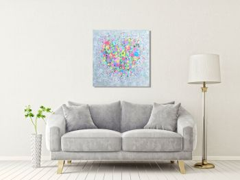 """CANVAS PRINT - """"My Heart Is Yours"""" From £65"""