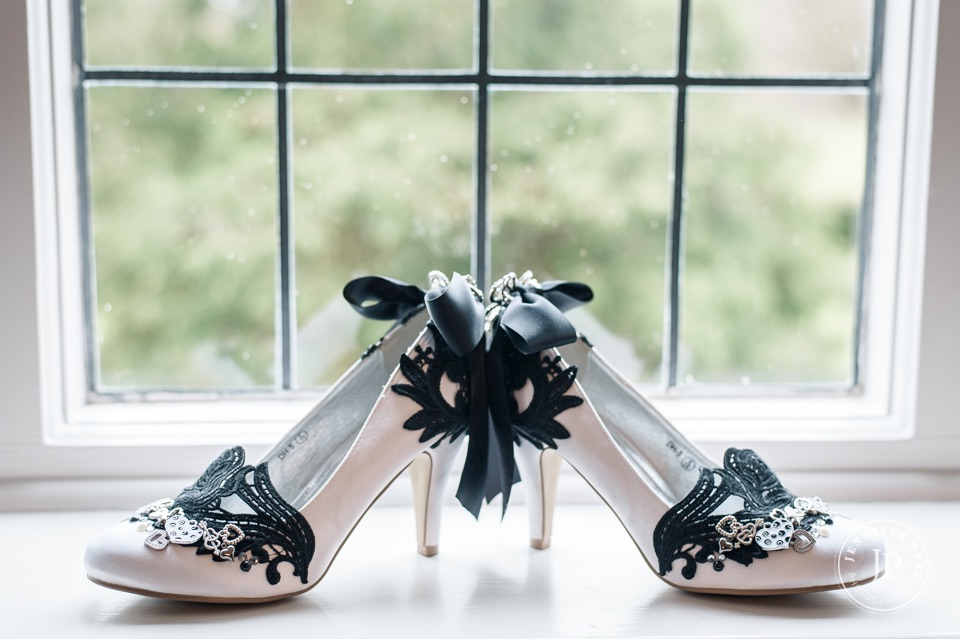 Alternative wedding shoes by Lace and Love