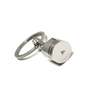 PERSONALISED PISTON KEYRING