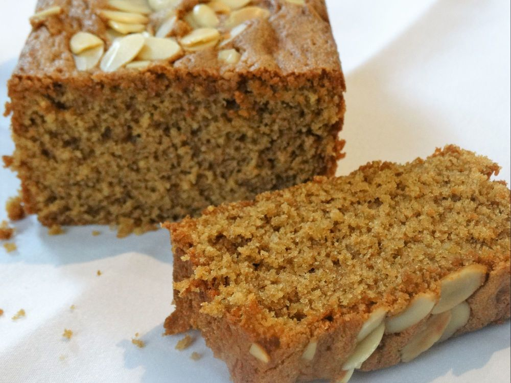 Coffee And Almond Loaf Cake