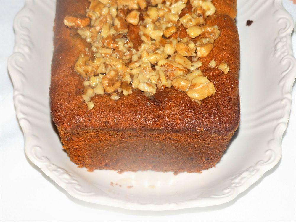 Banana, Walnut, Date and Honey Loaf Cake