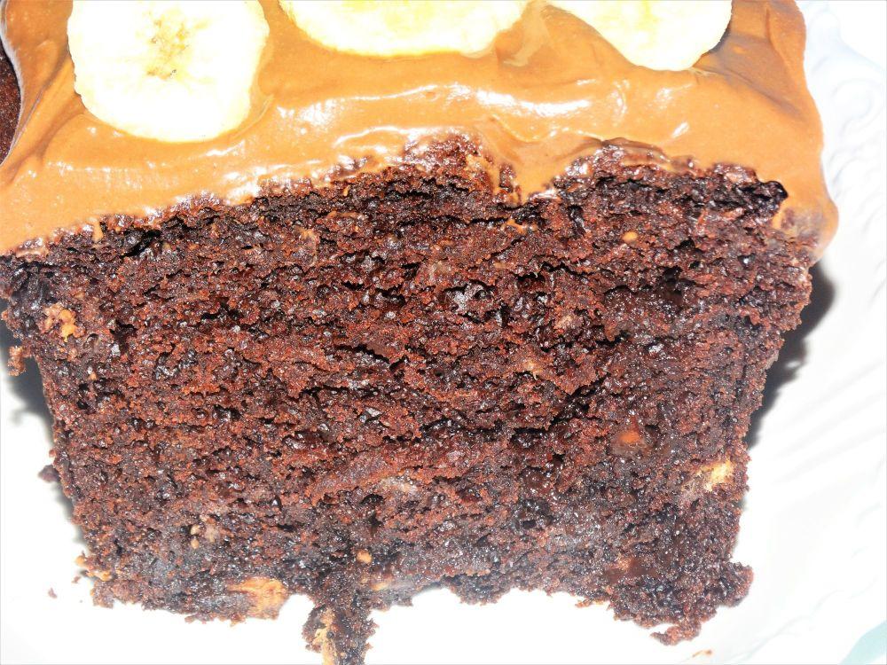 Banana & Chocolate Loaf Cake
