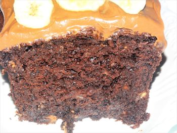 Banana & Chocolate Loaf Cake