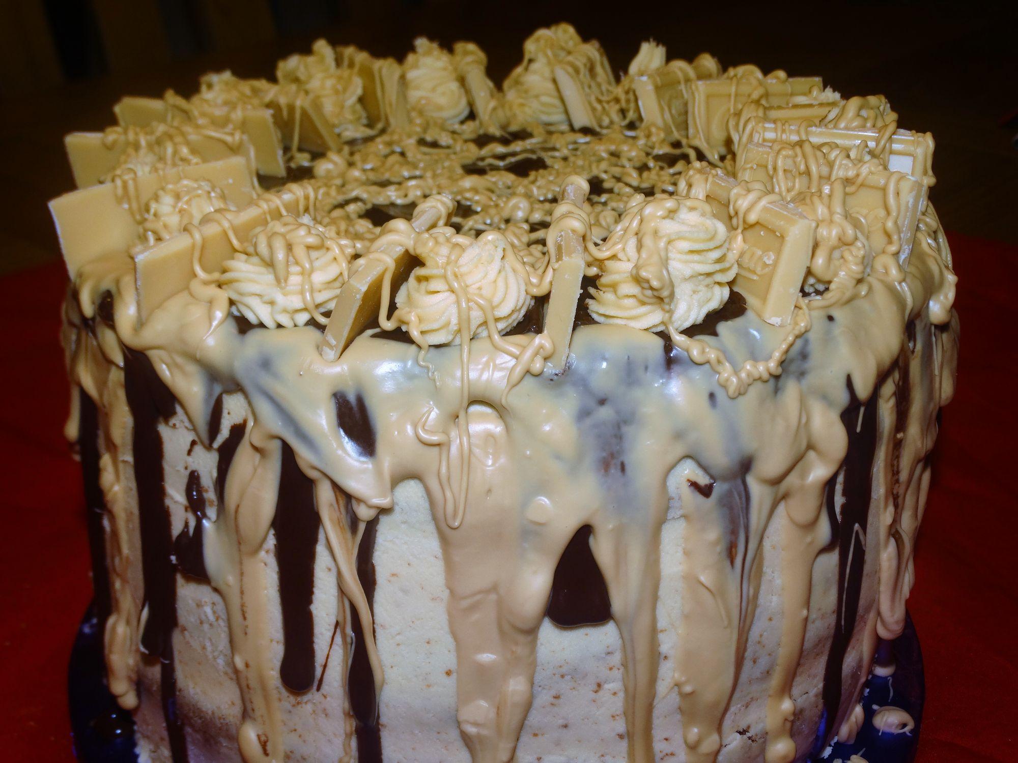 Caramac Drip Cake