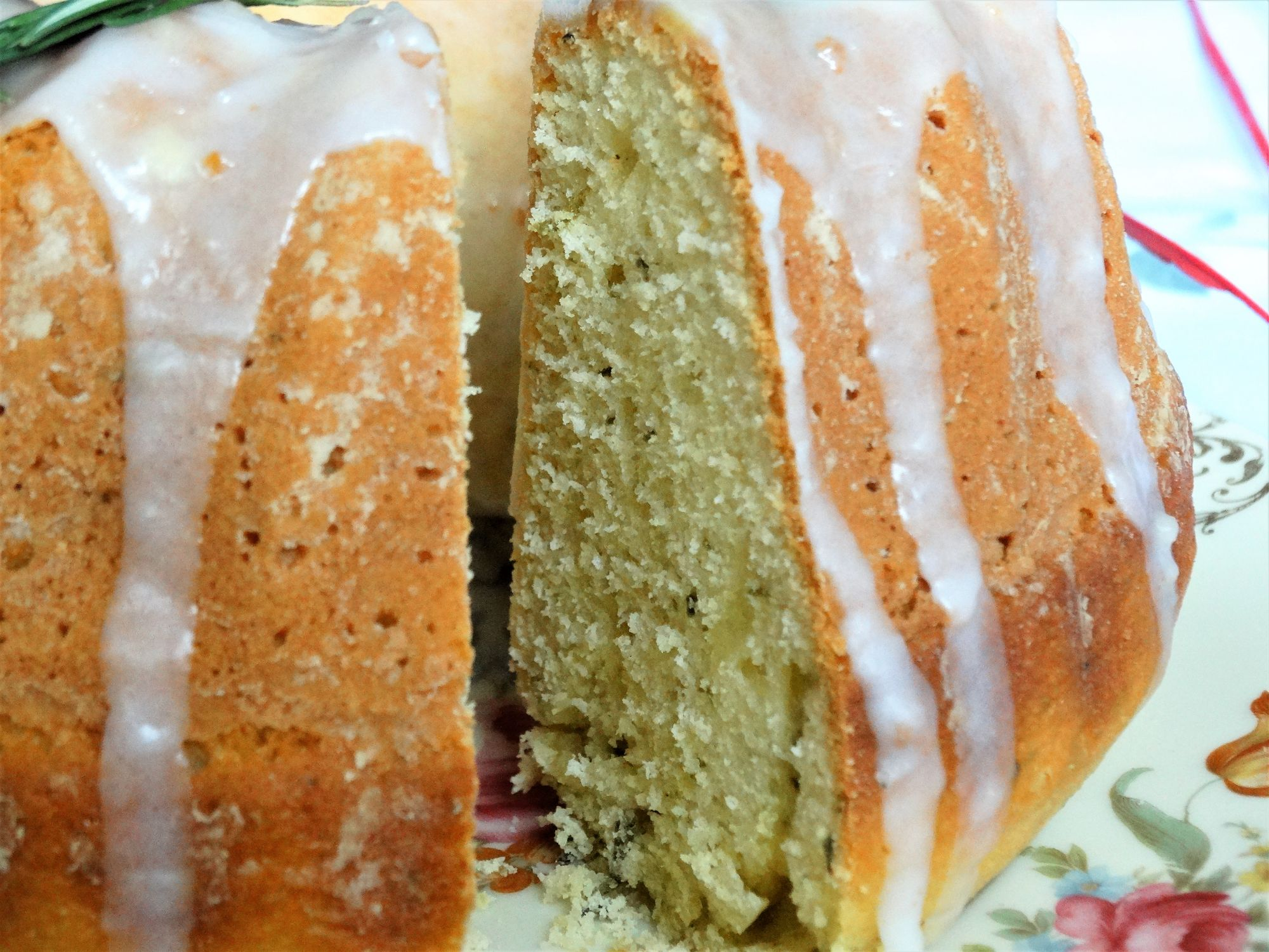 Rosemary and Lime Mother's Day Cake