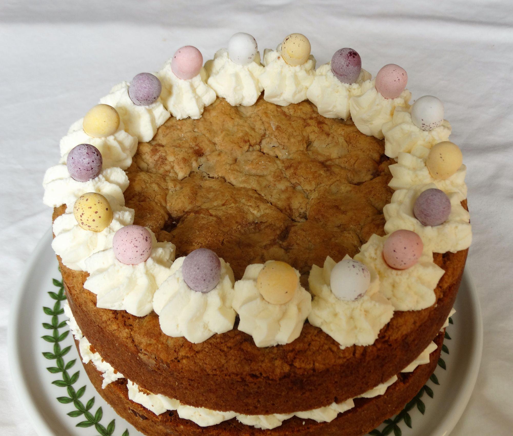Mini Eggs Cookie Cake