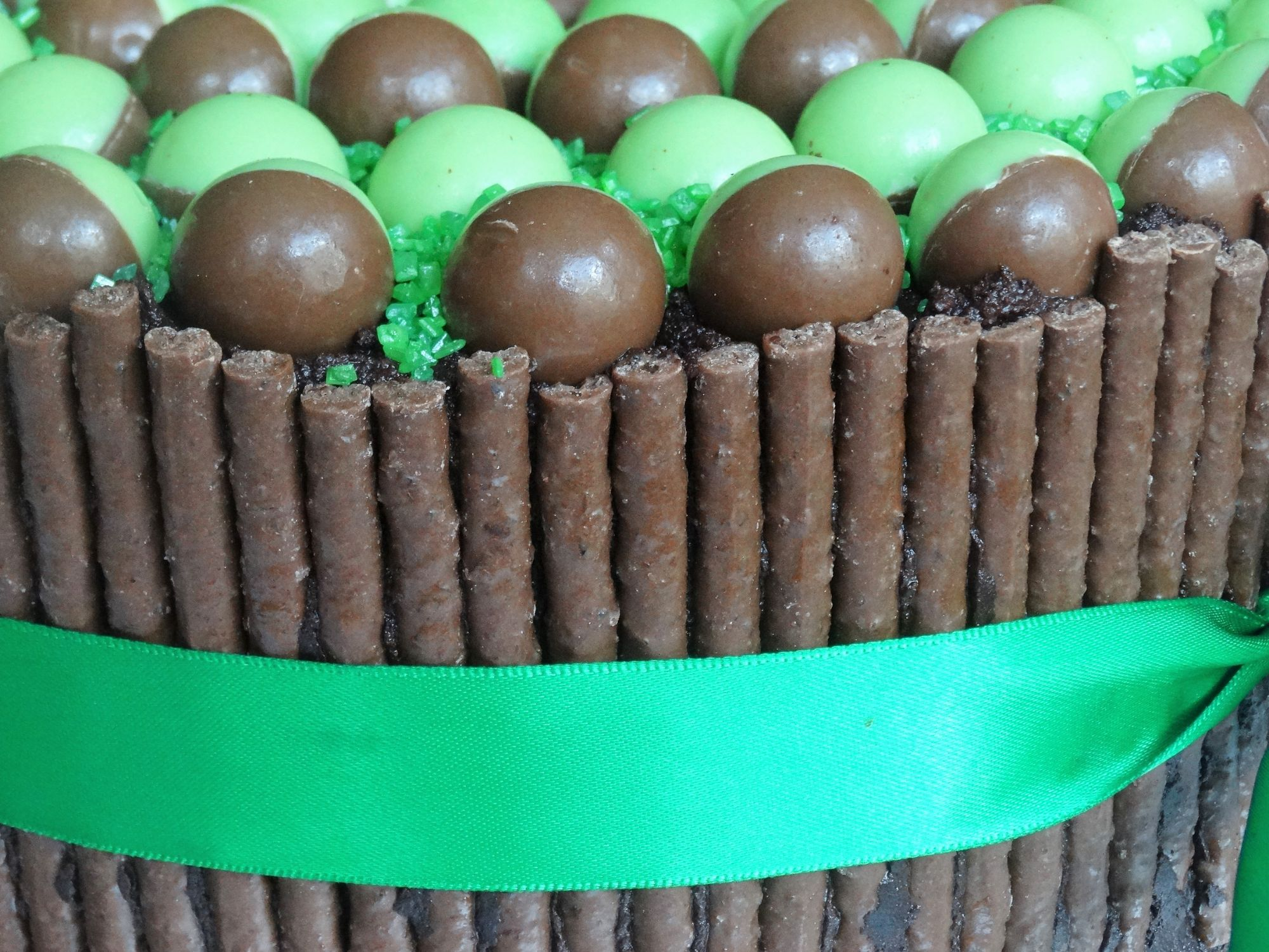 Mint Aero and Mint Matchmakers Layer Cake