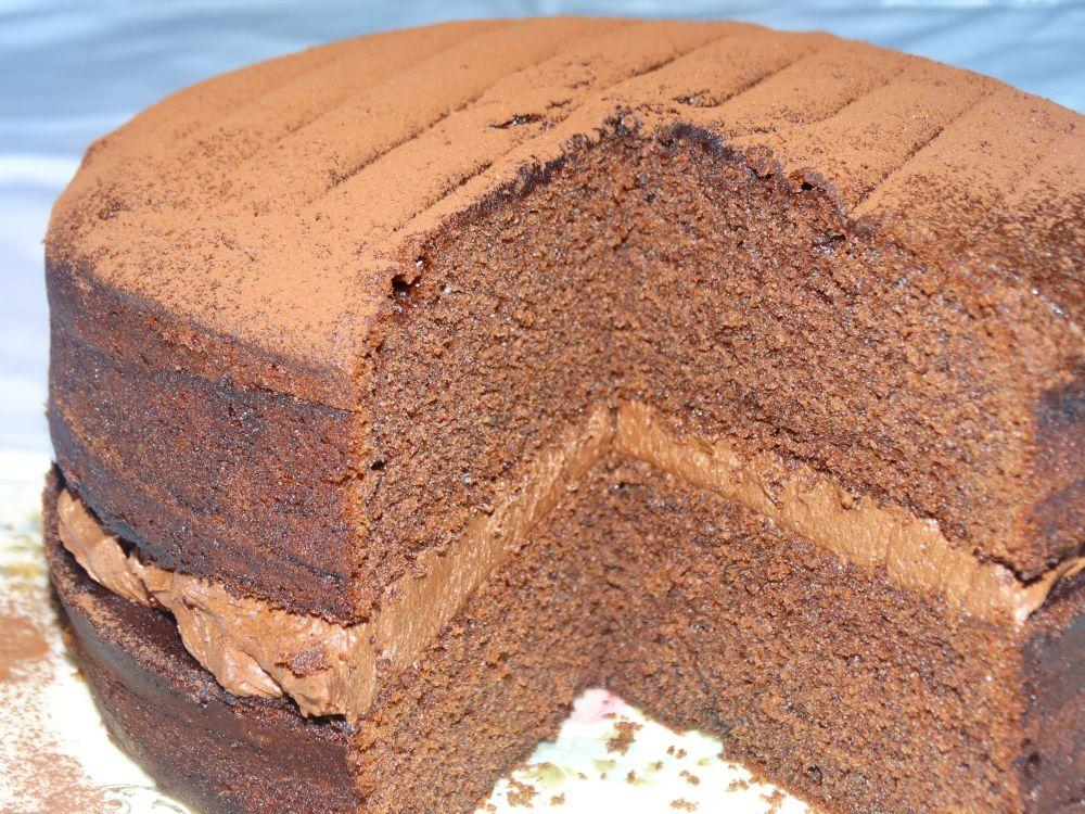 Chocolate Cake Chocolate Buttercream Chocolate Victoria Sponge Chocolate Sp