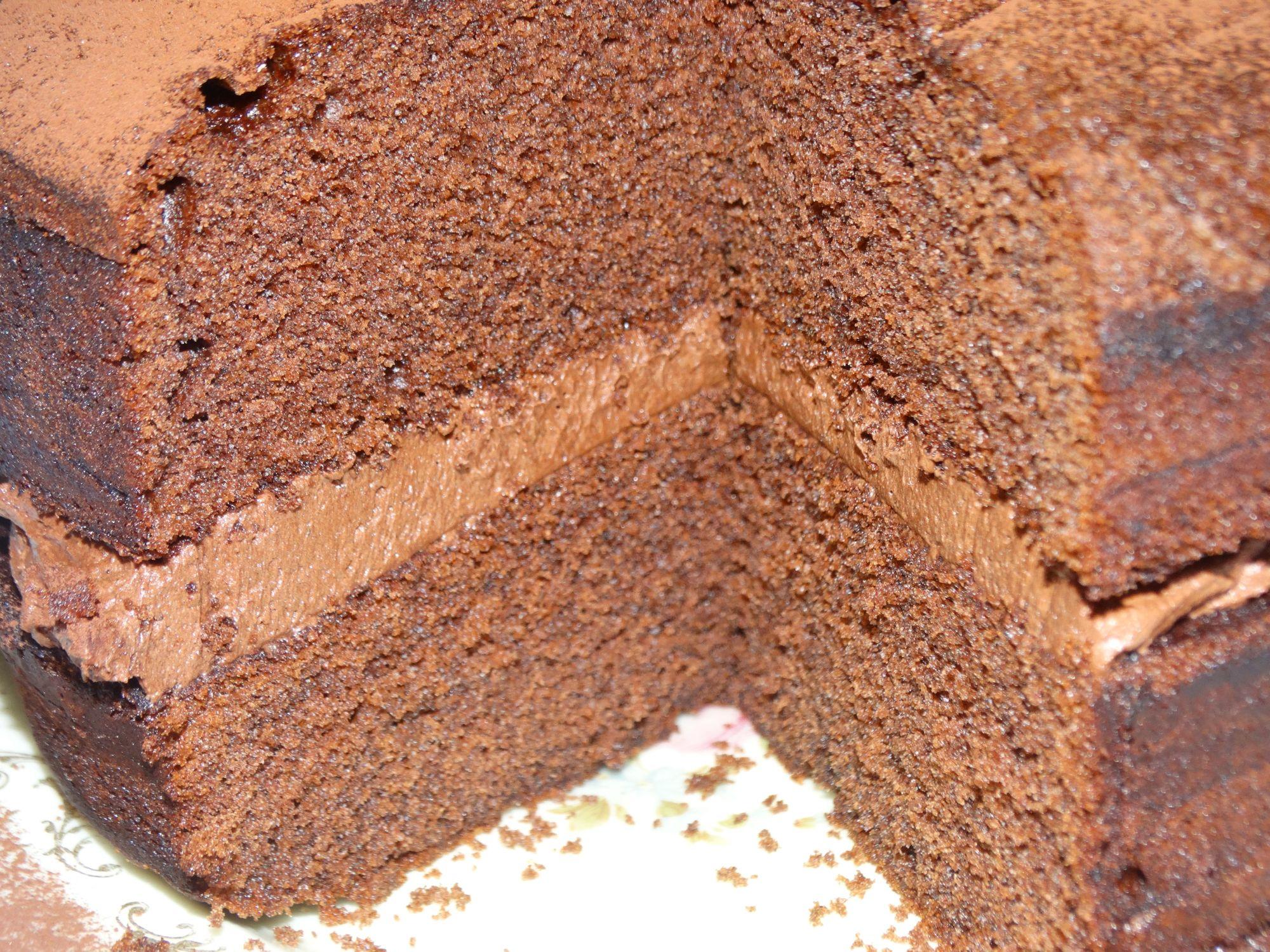 Chocolate Victoria Sponge Cake