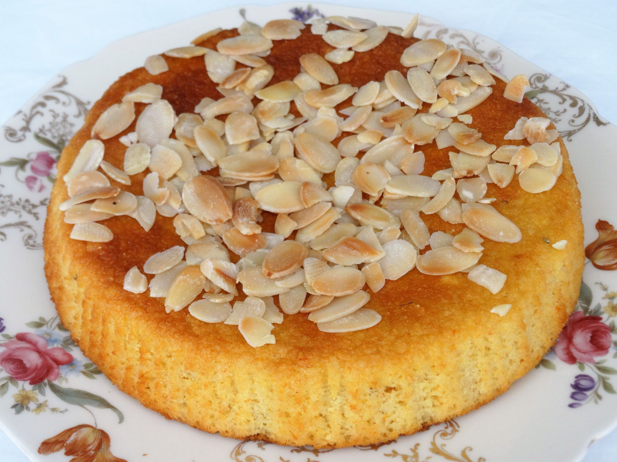 Dairy Free Orane and Almond Cake