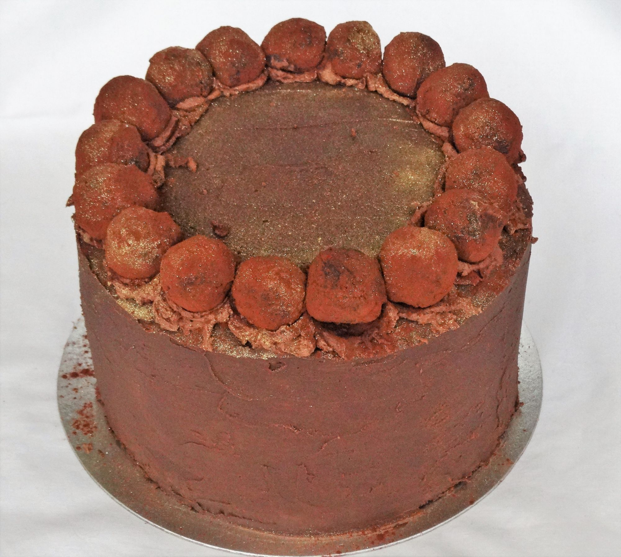 Chocolate & Marzipan Layer Cake