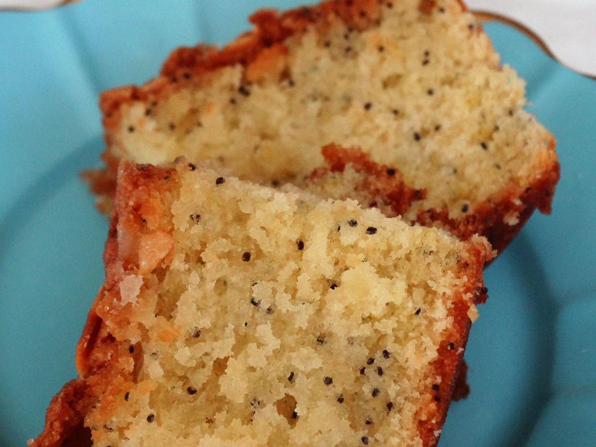 Lemon Almond and Poppyseed Cake
