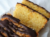 Orange Chocolate Drizzle Loaf Cake