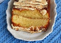 Coconut And Lime Drizzle Tray Bake