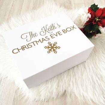 Family Christmas Eve Box