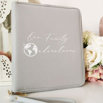 Our Family Adventures Travel Document Holder