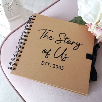 Personalised 'The Story of Us' Book