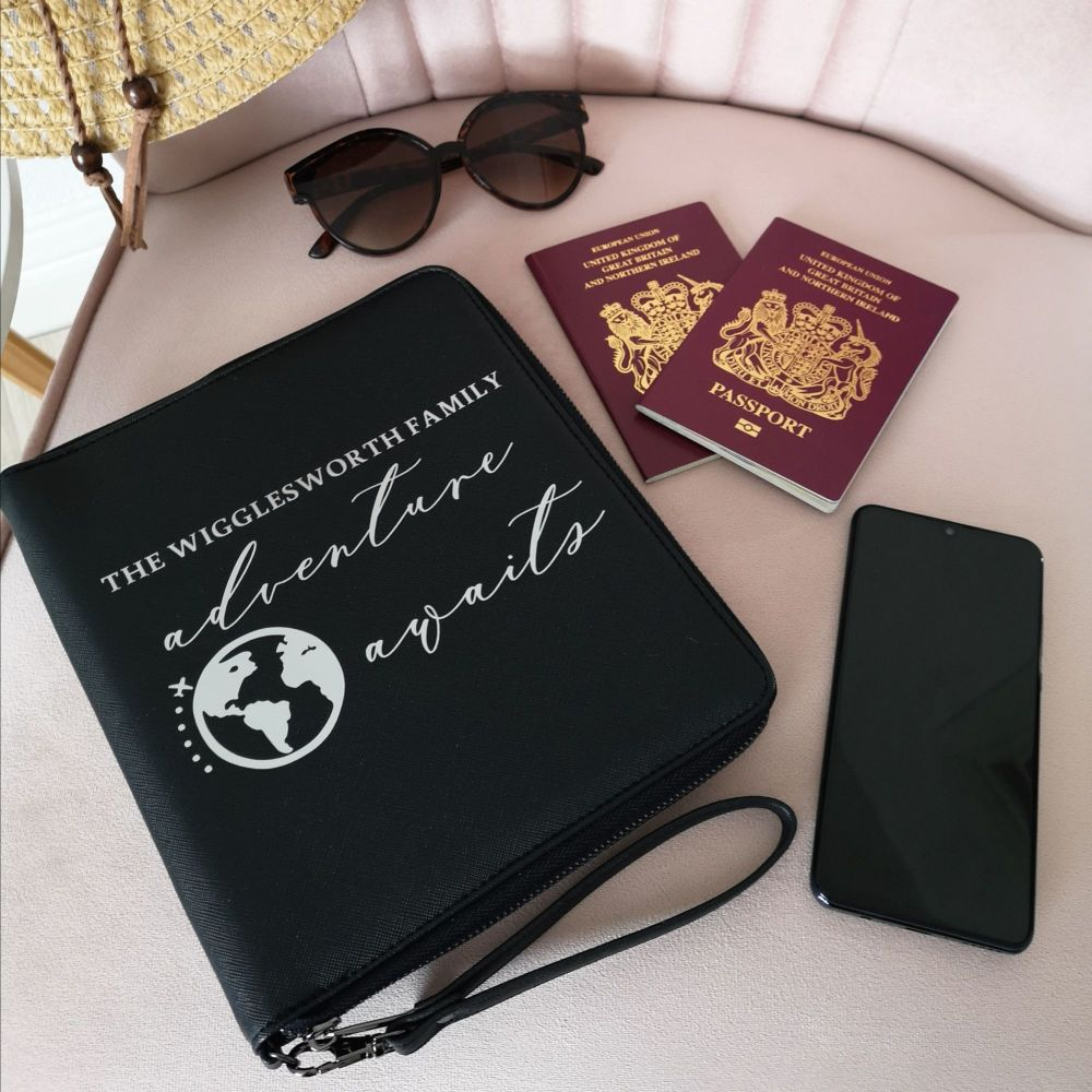 Family Travel Document Holder